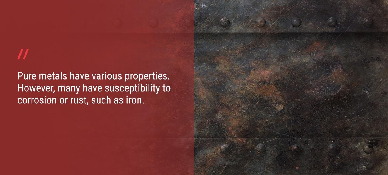 Properties of Pure Metals